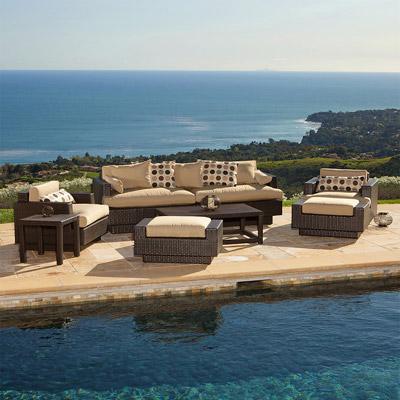Portofino Sofa and Club Chair 8 pc Set ...